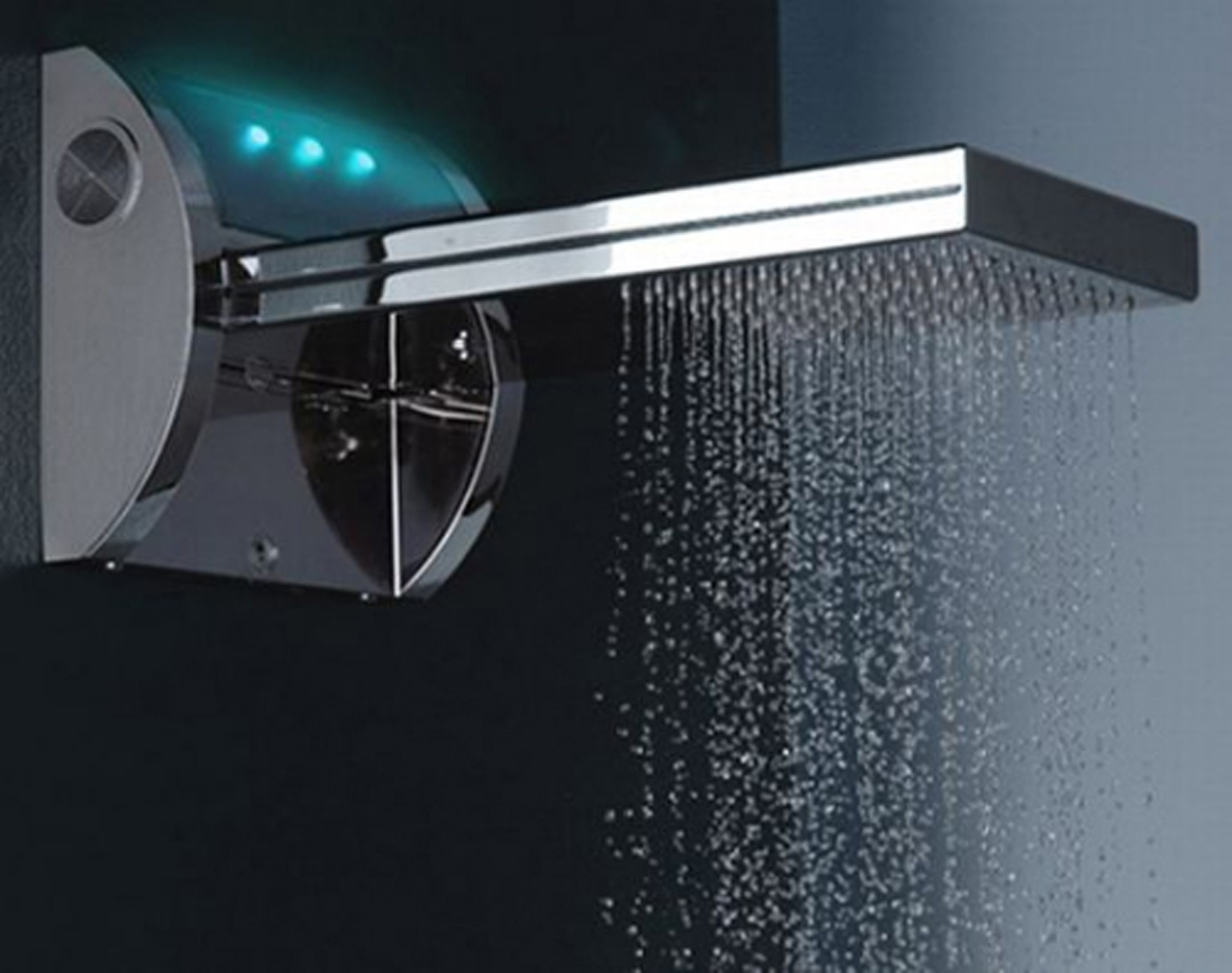 Modern Futuristic Bathroom Shower Head Designs